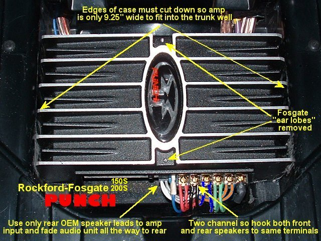 old rockford fosgate amp wiring diagram old wiring diagrams online rockford fosgate amp wiring diagram